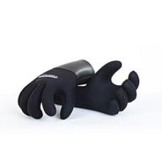 Перчатки полусухого типа Aquatics 7мм, нейлон/открытая пора, с загнутыми пальцами