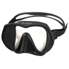 Маска для плавания Aropec Basalt, безрамочная, черный силикон