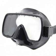 Маска для плавания Apollo Bio Mask, безрамочная, черный силикон