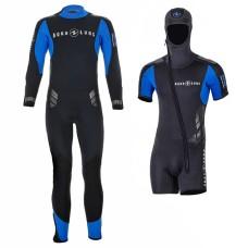 Гидрокостюм для дайвинга мужской Aqua Lung Balance Comfort 7+5мм, комплект