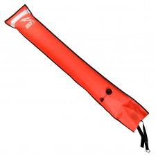 Буй сигнальный IST, со светодиодной полоской, красный, 137х24см