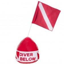 Буй-поплавок IST, с флагом