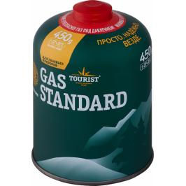 Газ в баллоне GAS STANDARD, резьбовое соединение, 450г