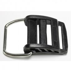 Пряжка Aquatec для крепления баллона, пластиковая, стальное кольцо