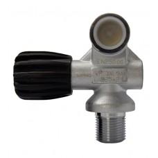 Вентиль для водолазного баллона Sopras, резьба M25x2, 300 бар, DIN