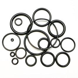 Кольцо уплотнительное NBR 70A Black, ID12,37x2,62mm